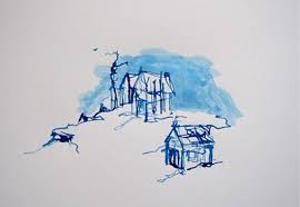 kinnon elliott illustration sketches from a small town