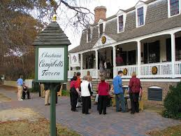 colonial williamsburg ate an excellent thanksgiving day meal