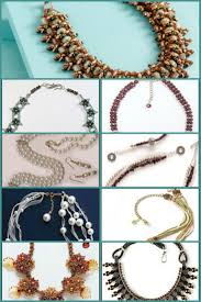 4 Ideas For Jewelry Making - 155 best beaded necklace projects images on pinterest beading