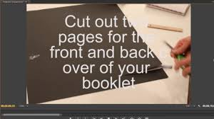 how to make a coffee table book book binding youtube
