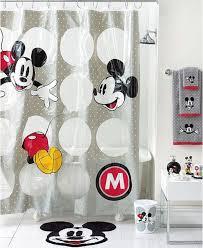 capricious disney bathroom set 36 best mickey mouse shower curtain