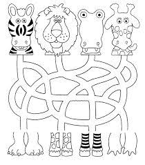 printable animal activities fichas atencion21 tehtäviä lapsille worksheets pinterest file