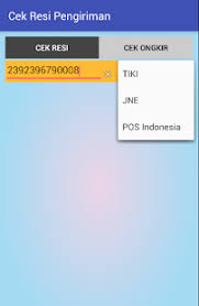 Cek Resi Cek Resi Pengiriman Apk Direct Free Tools App Developer
