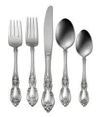 Oneida Kitchen Knives Oneida Louisiana Floral Fiddleback Stainless Steel Flatware Dillards