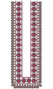 mens neck embroidery design