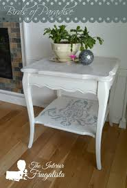 French Provincial Table Birds Of Paradise A French Provincial Table Makeover The