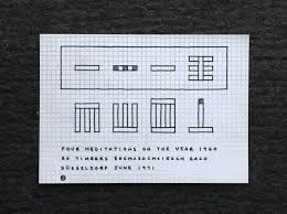 Invitation Card Printing Services Carl Andre Selected Prints And Invitation Cards 1968 1973 Archiv