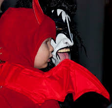 ocean city halloween parade 2015 ghosts goblins superheroes and pricesses dance on the upper