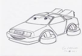 cartoon car back pz c cartoon car