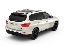 white nissan 2017 nissan canada offers pathfinder platinum midnight edition to