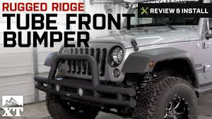 jeep wrangler front jeep wrangler rugged ridge tube front bumper 2007 2016 jk review