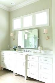 Bathroom Mirror Molding Crown Moulding In Bathroom Image For Mirror Frame Crown