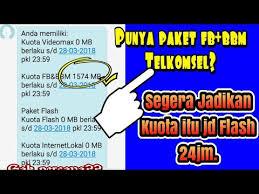 kuota bbm dan fb telkomsel gak ribett real ubah kuota fb dan bbm telkomsel jd flash 24jm