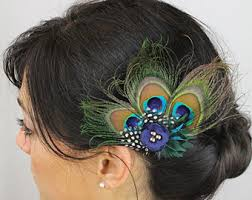 feather hair accessories custom hair accessories for of all ages by flowercatcher