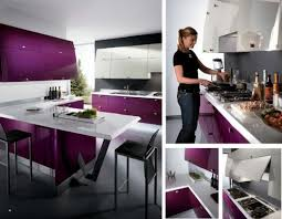 purple kitchen decorating ideas interior inspiration 12 kitchens with color stainless