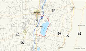 Saratoga State Park Map New York State Route 9p Wikipedia