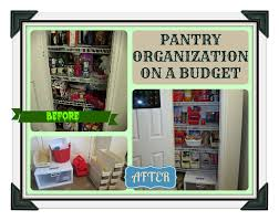 pantry organization on a budget youtube