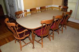 Maple Dining Room Table And Chairs Dark Maple Dining Room Chairs Maple Butterfly Dining Set