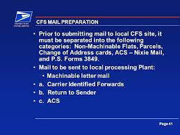 Change Of Address Announcement Letter Postal Automated Redirection System Pars Page 2 Perspective 43