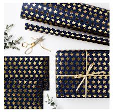 blue foil wrapping paper luxury navy with gold foil wrapping paper oh la de dah
