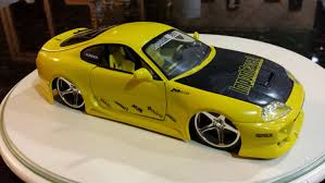 toyota supra drawing toyota supra die cast jada import tuner collectible yellow car