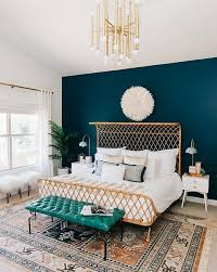 teal bedroom ideas turquoise accent wall 14