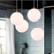 white dome pendant light indoor glass white ball pendant ls dining room pendant light bar