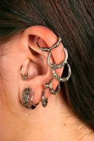 earrings for thick earlobes cartilage earrings lovetoknow