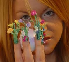 crazy nail art plants crazy nail designs for short nails nail
