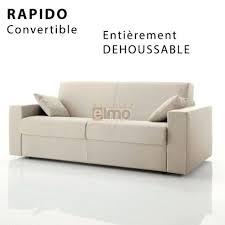 canapé convertible discount canape convertible rapido couchage 160 socialfuzz me
