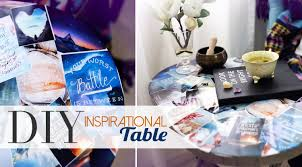 Table Home Decor Diy Pinterest Collage Table Home Decor Ann Le Youtube