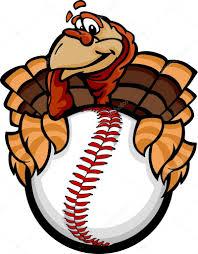 thanksgiving cartoon images baseball or softball happy thanksgiving holiday turkey cartoon v