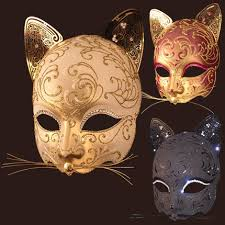 cat masquerade mask can t go wrong with a cat festivals fairies elves and