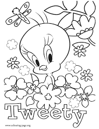ideas collection tweety coloring pages sample