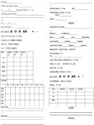 Nursing Report Sheet Templates Nursing Report Sheet Templates Haisume