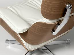 vitra lounge chair white version 84 cm original height 1956