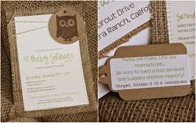top 10 burlap baby shower invitations for your inspiration
