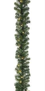 pre lit decorated christmas garland u2013 decoration image idea