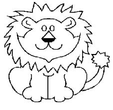 cut circus lion templates free download clip art free clip