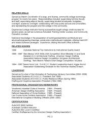 Autocad Drafter Resume Architectural Resume Examples Resume Example And Free Resume Maker