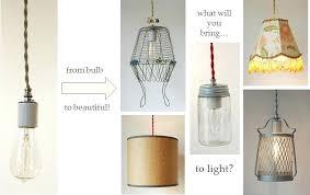 pendant light kit diy pendant lights cloth cord swag pendant light kits make anything