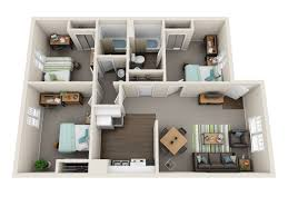 the ranch apartments floor plans student apartments at texas 3 bedrooms 2 bathrooms