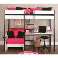 loft beds with desk underneath bed and stairs costco plans