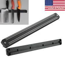 Magnetic Strips For Kitchen Knives 13 U0026 034 Wall Mount Magnetic Knife Storage Holder Chef Rack