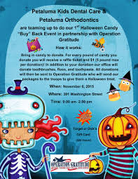halloween gifts to send community involvement petaluma kids dental care