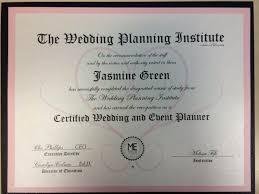 wedding planner certification wedding planner certification education for wedding planner
