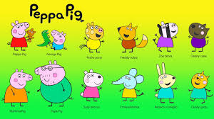 peppa pig coloring for kids coloring peppa pig friends baby