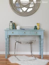 Sofa Desk Table by A Beachy Writing Desk The Weathered Door