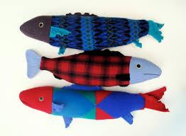 fish sweater 3 fish doll