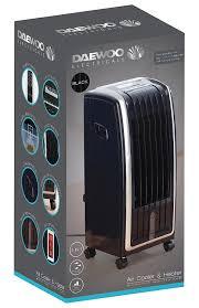daewoo portable 6 5l 4 in 1 air cooler fan heater air purifier